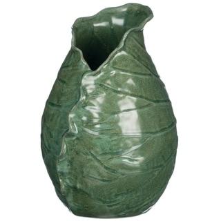 Blue-Green Porcelain Lotus Vase
