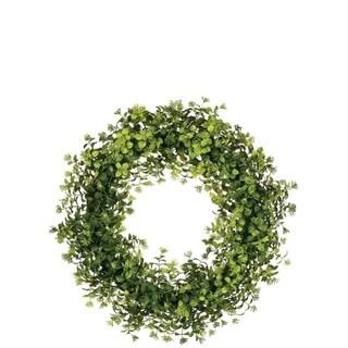 Boxwood & Berry Wreath