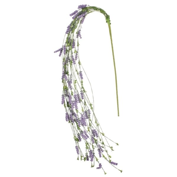 "Purple Hanging Berry Stem - 11""L x 8""W x 32""H"