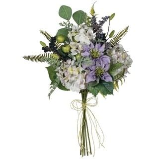 Hydrange, Clematis & Lavender Bush