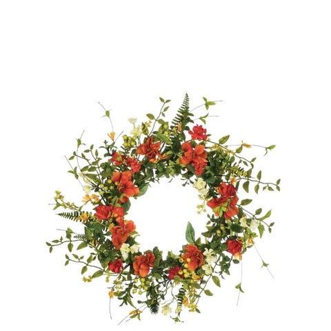 Wildflower & Berry Wreath