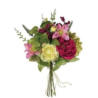 Peony, Clematis & Hydrangea Bush