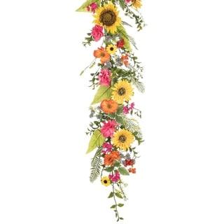 Sunflower, Primrose & Daisy Garland