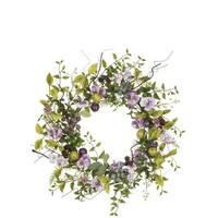 Pansy & Berry Wreath