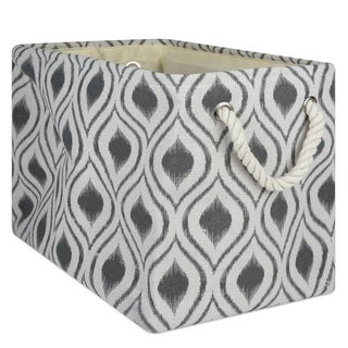 DII Ikat Decorative Storage Bin