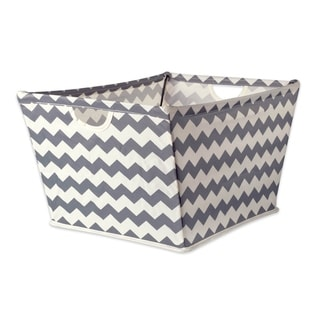 DII Chevron Decorative Storage Trapezoid