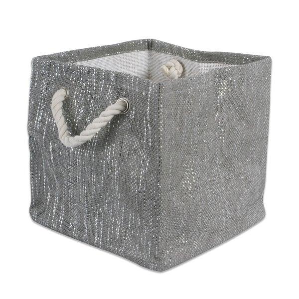 DII Lurex Decorative Storage Cube