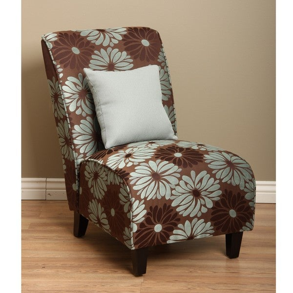 Tapered Chair Aqua Grey Petals Free Shipping Today
