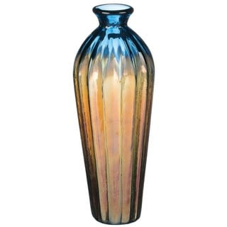 """Link to 13"""" Iridescent Glass Vase Similar Items in Decorative Accessories"""