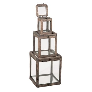 Link to Glass & Wood Display Boxes Similar Items in Accent Pieces