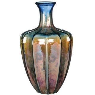 """Link to 13.5"""" Iridescent Glass Vase Similar Items in Decorative Accessories"""