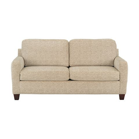 Kotter Home Khaki Two-Seat Sofa