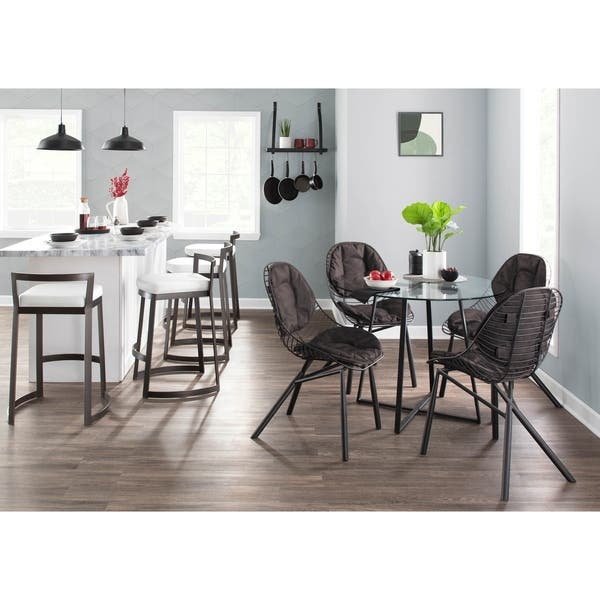 Silver Orchid Pugo Black Dining Table Overstock 27728939