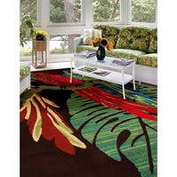 Andros Parrots Brown Rug