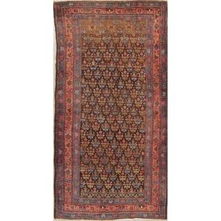 "Bidjar All-Over Geometric Handmade Wool Persian Oriental Rug - 8'8"" x 4'3"" Runner"