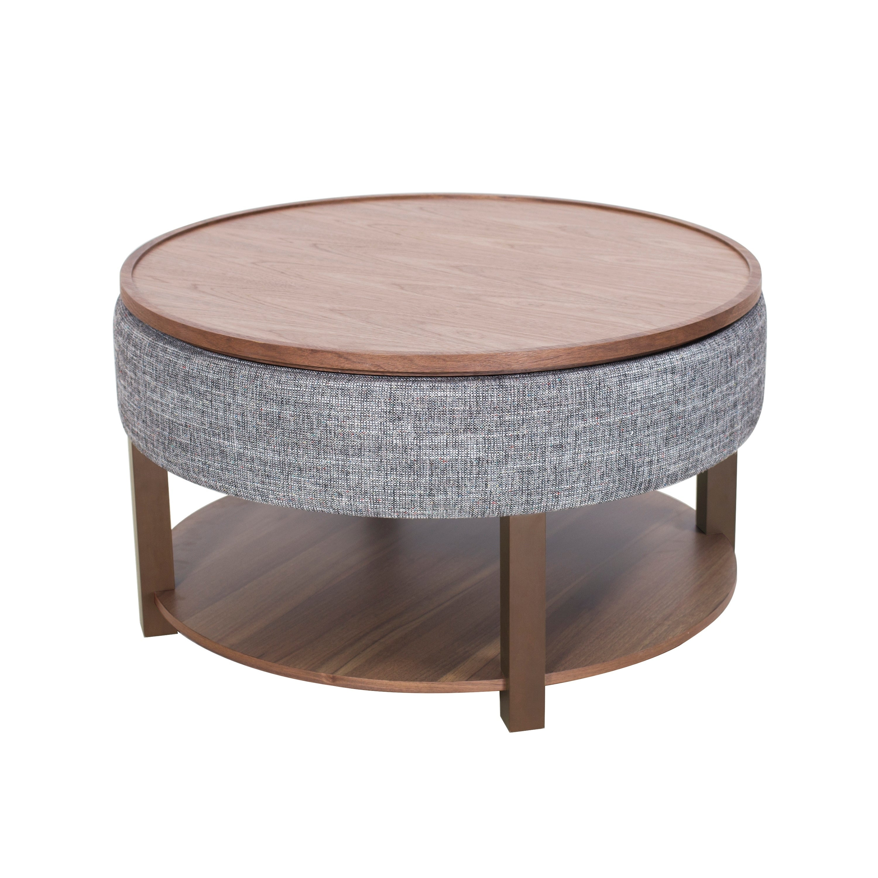 - Shop Neville Lift-top Round Storage Coffee Table - Overstock