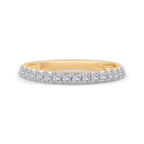 14K Yellow Gold 1/4ct TDW Diamond Wedding Band (J-K, SI)