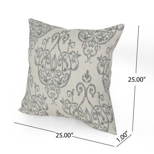 Ankeny Modern Fabric Throw Pillows (Set of 2) by Christopher Knight Home