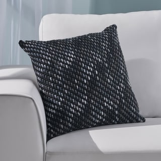 Acton Modern Fabric Throw Pillow Cover (No Filling) by Christopher Knight Home