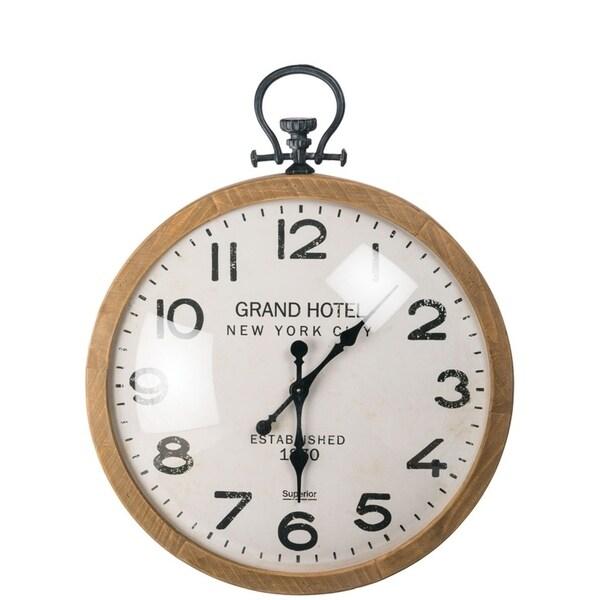 Grand Hotel Pocket Watch Wall Clock