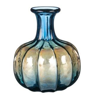 Stout Iridescent Sunset Ribbed Vase