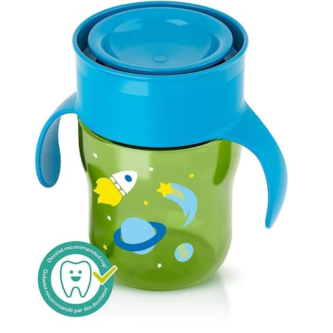 Philips Avent SCF782/53 Green BPA-free Plastic 360-degree 9-fluid-ounce My First Big Kid Cup - 1 Pack