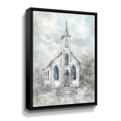ArtWall Faith Gallery Wrapped Floater-framed Canvas