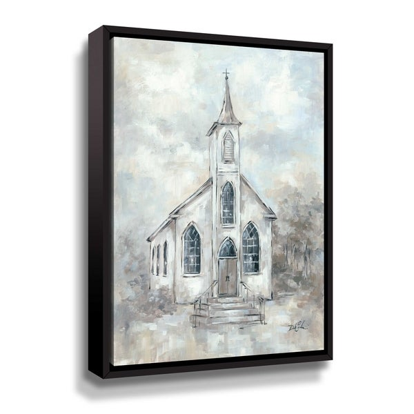 ArtWall Faith Gallery Wrapped Floater-framed Canvas. Opens flyout.
