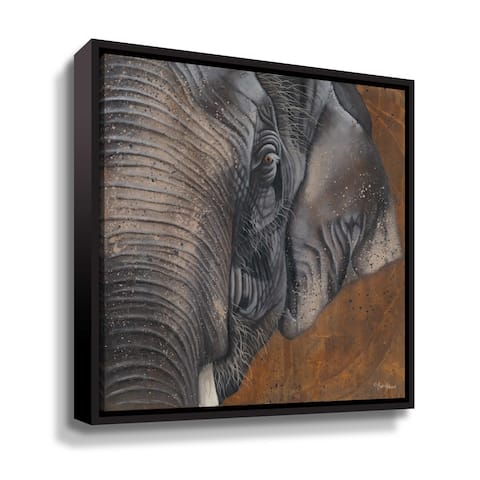 ArtWall The Gentlest Giant Gallery Wrapped Floater-framed Canvas