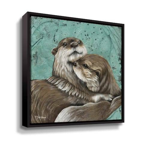 ArtWall Mischief and Mayhem Gallery Wrapped Floater-framed Canvas