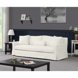 Handy Living Sandy Skirted Sofa