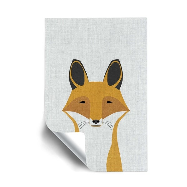 ArtWall Foxy Removable Wall Art Mural. Opens flyout.