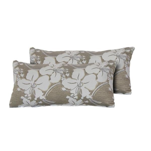 South Beach Outdoor Throw Pillows Rectangle Set of 2