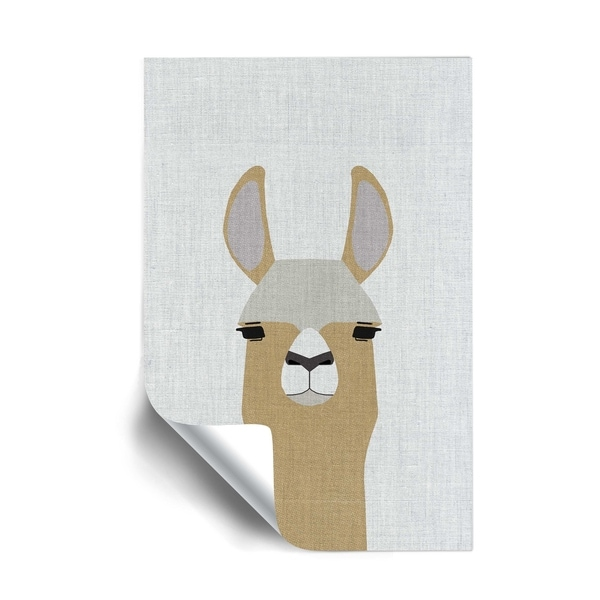 ArtWall Llama Removable Wall Art Mural. Opens flyout.