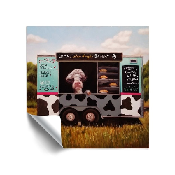 ArtWall Cowpies Removable Wall Art Mural. Opens flyout.