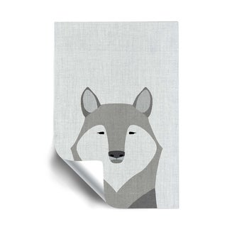 Link to ArtWall Gray Wolf Removable Wall Art Mural Similar Items in Vinyl Wall Art