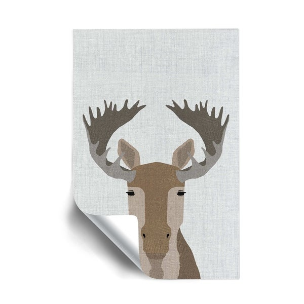 ArtWall Moose Removable Wall Art Mural. Opens flyout.