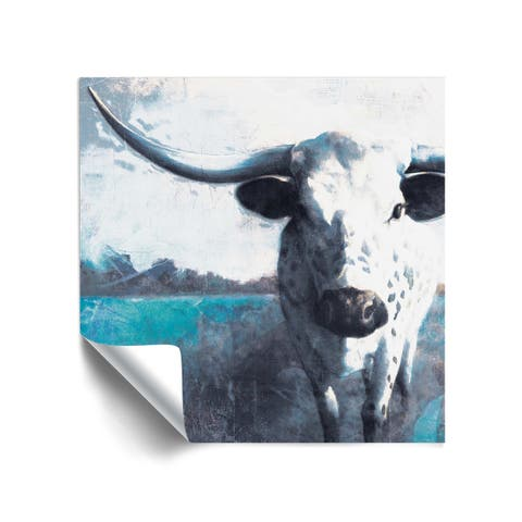 ArtWall Cow Close Up Removable Wall Art Mural