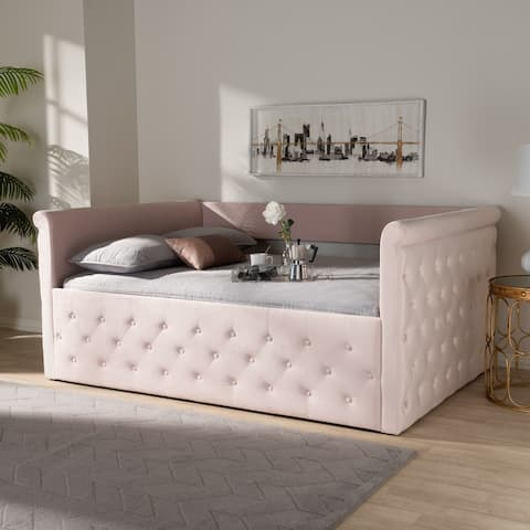 Contemporary Velvet Daybed