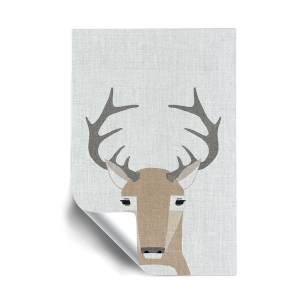 ArtWall Whitetail Deer Removable Wall Art Mural. Opens flyout.