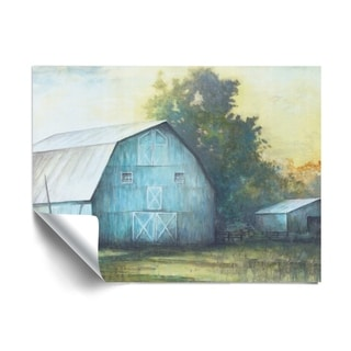 Link to ArtWall Rustic Blue Barn Removable Wall Art Mural Similar Items in Vinyl Wall Art