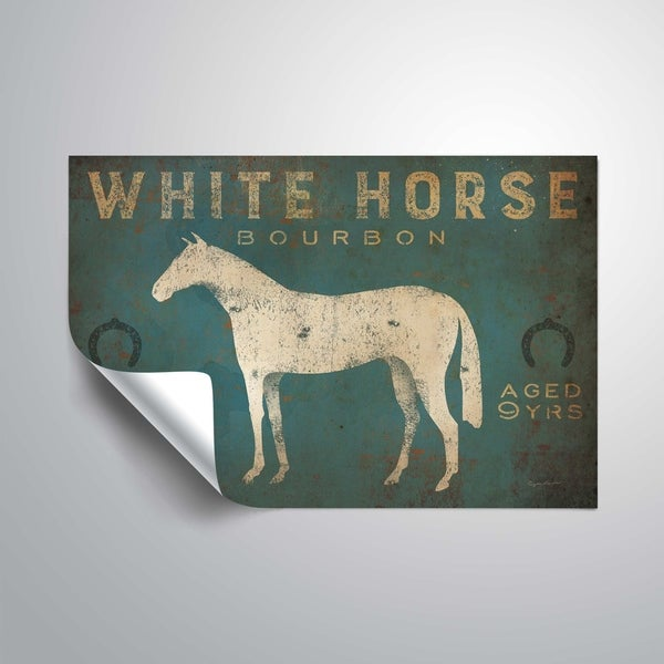 ArtWall White Horse No Kentucky Removable Wall Art Mural. Opens flyout.