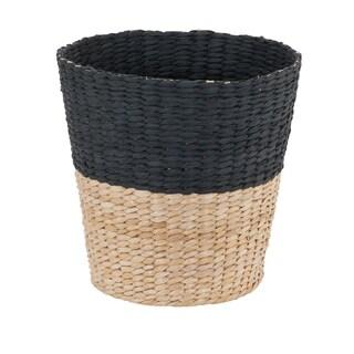 Link to Household Essentials Hyacinth Waste Basket Trash Bin, Charcoal-Natural Similar Items in Kitchen Storage