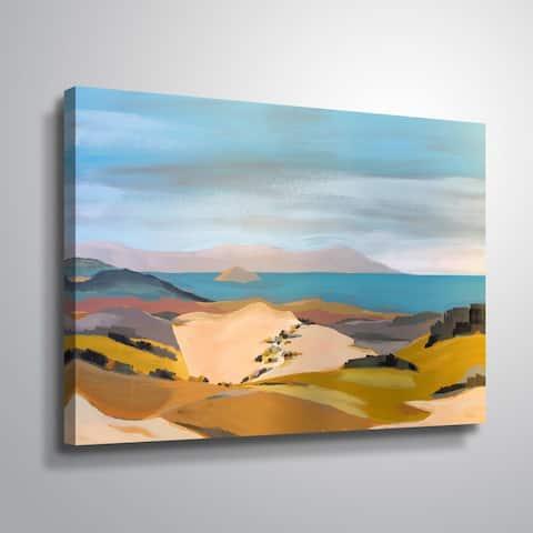 Porch & Den San Luis Obispo' Gallery Wrapped Canvas