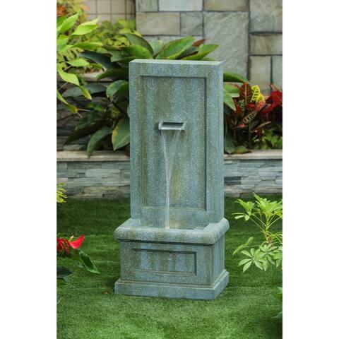 Havenside Home Aracaju Patina Stone Garden Fountain