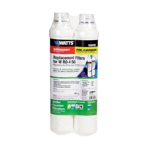 Watts Replacement Water Filter For Under Sink 2,500 gal.