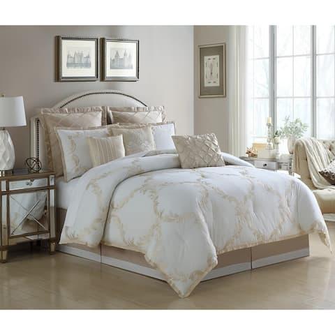 Veratex Avenal 4 Piece Comforter Set