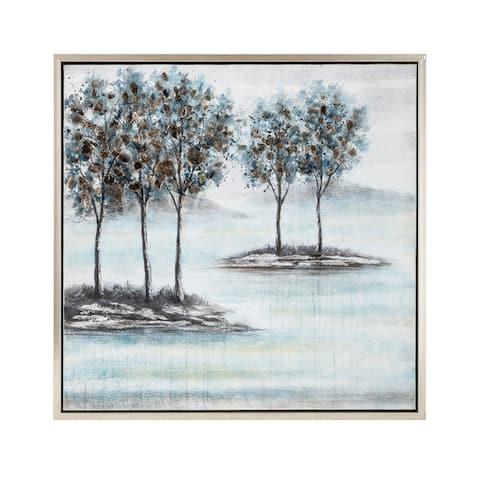 Trisha Yearwood Bluebird Framed Oil Painting