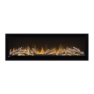 Alluravision Deep Depth 50-inch Wall Mount Electric Fireplace NEFL50CHD