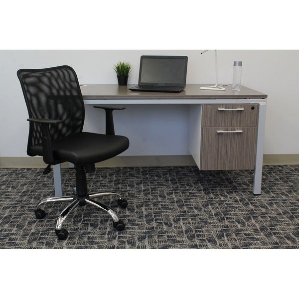 Boss Budget Mesh Task Chair with T-Arms
